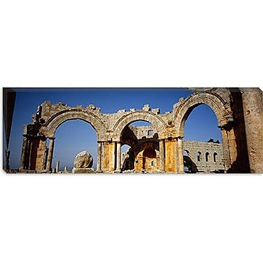 iCanvas Panoramic St. Simeon Church, Aleppo, Syria Photographic Print on Canvas