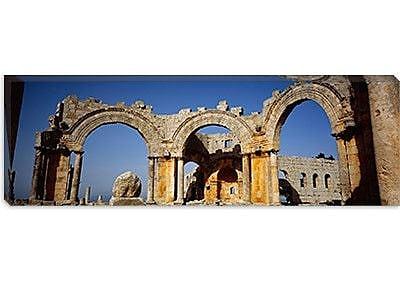 iCanvas Panoramic St. Simeon Church, Aleppo, Syria Photographic Print on Canvas