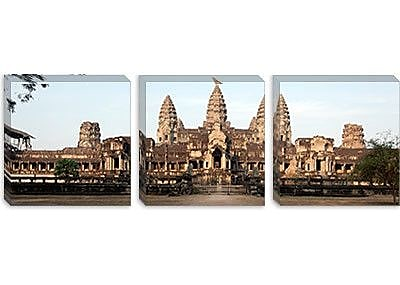 iCanvas Panoramic 'Angkor Wat, Angkor, Siem Reap, Cambodia' Photographic Print on Canvas