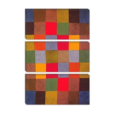 iCanvas 'New Harmony' by Paul Klee Graphic Art on Canvas; 40'' H x 26'' W x 0.75'' D