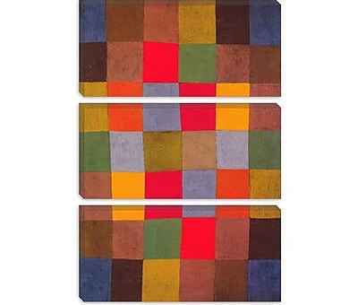 iCanvas 'New Harmony' by Paul Klee Graphic Art on Canvas; 26'' H x 18'' W x 0.75'' D