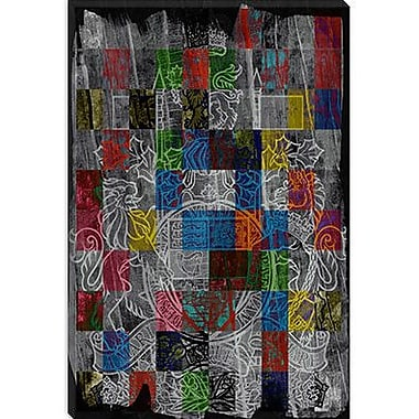 iCanvas Canada, Coat of Arms #5 Graphic Art on Canvas; 26'' H x 18'' W x 0.75'' D