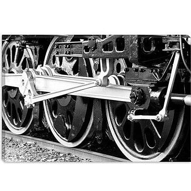 iCanvas Antique Train Photographic Print on Canvas; 8'' H x 12'' W x 0.75'' D