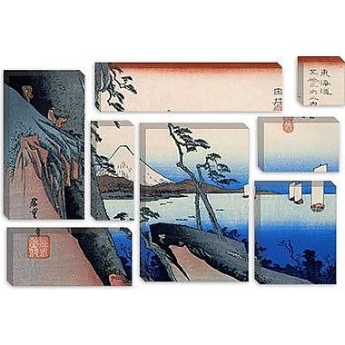 iCanvas Ando Hiroshige 'Yui (Takaido)' by Utagawa Hiroshige I Graphic Art on Canvas