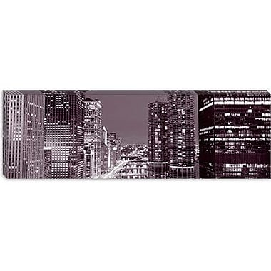 iCanvas Panoramic Wacker Drive Chicago, Illinois Photographic Print on Canvas
