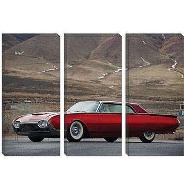 iCanvas Cars and Motorcycles 1961 Ford Firestar Custom Thunderbird Photographic Print on Canvas