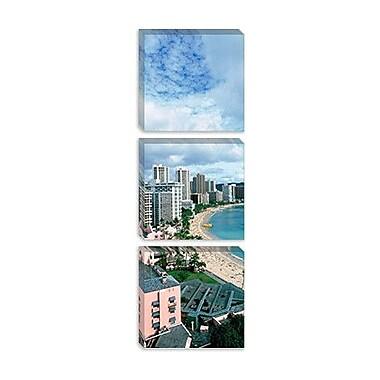 iCanvas Panoramic Waikiki Beach, Honolulu, Hawaii Photographic Print on Canvas