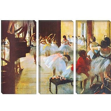 iCanvas Ecole De Danse (Dance School) by Edgar Degas Painting Print on Canvas