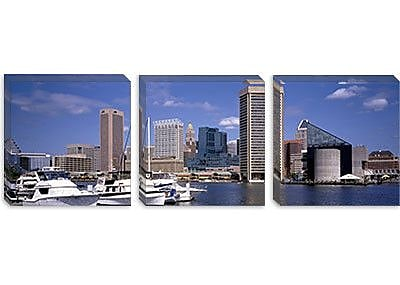 iCanvas Panoramic Baltimore, Maryland Photographic Print on Canvas; 20'' H x 60'' W x 0.75'' D