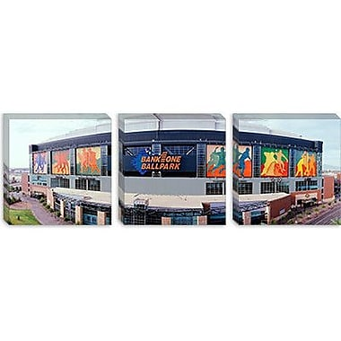 iCanvas Panoramic Bank One Ballpark Phoenix, Arizona Photographic Print on Canvas