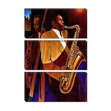 iCanvas 'Body and Soul' by Keith Mallett Painting Print on Canvas; 18'' H x 12'' W x 0.75'' D