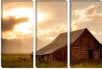 iCanvas 'Mountain Home' by Dan Ballard Photographic Print on Canvas; 40'' H x 60'' W x 1.5'' D