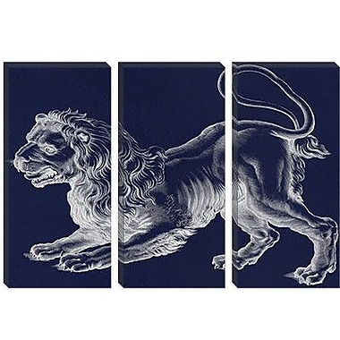 iCanvas Astronomy and Space 'Leo (Lion) III' Painting Print on Canvas; 18'' H x 26'' W x 1.5'' D