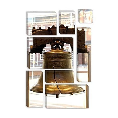 iCanvas Political Liberty Bell Photographic Print on Canvas; 40'' H x 26'' W x 1.5'' D