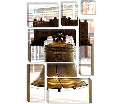 iCanvas Political Liberty Bell Photographic Print on Canvas; 26'' H x 18'' W x 0.75'' D