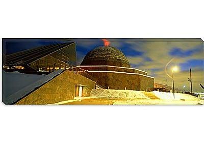 iCanvas Panoramic Adler Planetarium, Chicago, Illinois Photographic Print on Canvas