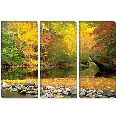 iCanvas 'Little River' by J.D. McFarlan Painting Print on Canvas; 26'' H x 40'' W x 1.5'' D