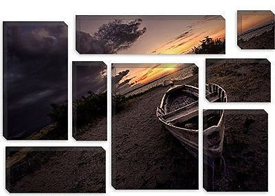 iCanvas 'Lonely' by Sebastien Lory Photographic Print on Canvas; 8'' H x 12'' W x 0.75'' D