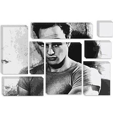 iCanvas Movies Marlon Brando Photographic Print on Canvas; 26'' H x 40'' W x 0.75'' D