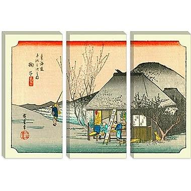iCanvas 'Mariko' by Utagawa Hiroshige l Painting Print on Canvas; 40'' H x 60'' W x 1.5'' D