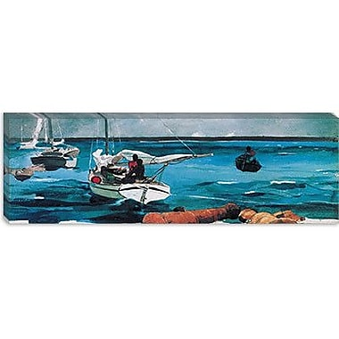 iCanvas 'Nassau' by Winslow Homer Painting Print on Canvas; 16'' H x 48'' W x 0.75'' D