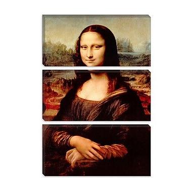 iCanvas 'Mona Lisa' by Leonardo Da Vinci Painting Print on Canvas; 18'' H x 12'' W x 1.5'' D