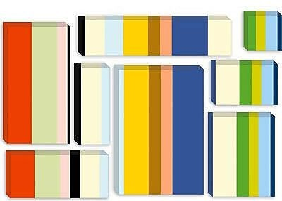 iCanvas 'New York Soho Striped' Graphic Art on Canvas; 18'' H x 26'' W x 0.75'' D