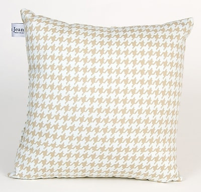 Glenna Jean Central Park Houndstooth Check Throw Pillow