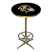 Imperial NFL Pub Table; Baltimore Ravens