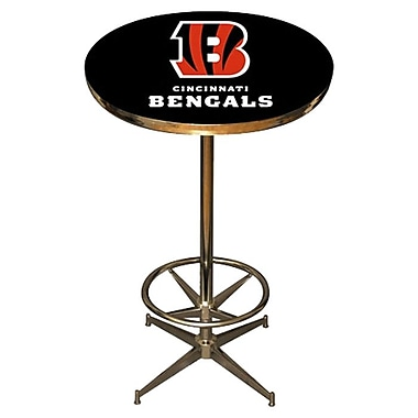 Imperial NFL Pub Table; Cincinnati Bengals