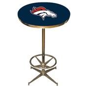 Imperial NFL Pub Table; Denver Broncos