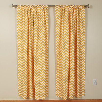 The Pillow Collection Pocket Curtain Panels (Set of 2); 50'' W x 72'' L