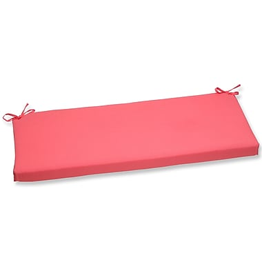 Pillow Perfect Fresco Outdoor Bench Cushion; Melon