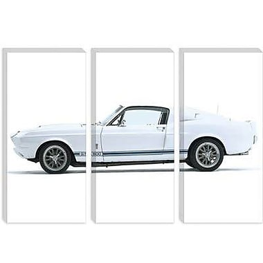 iCanvas Cars and Motorcycles Shelby Mustang GT500 1967 Photographic Print on Canvas
