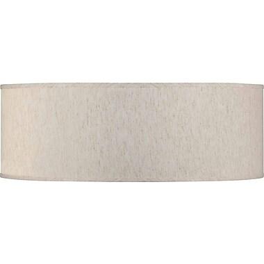 Volume Lighting 24'' Linen Drum Pendant Shade