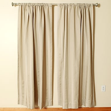 The Pillow Collection Rod Pocket Curtain Panels (Set of 2); 50'' W x 96'' L