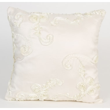 Glenna Jean Central Park Ribbon Throw Pillow