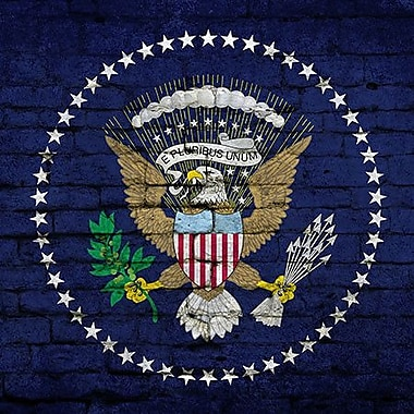 iCanvas Flags U.S. Presidential Brick Graphic Art on Wrapped Canvas; 26'' H x 26'' W x 1.5'' D