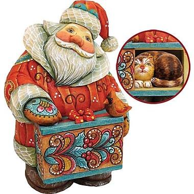 G Debrekht Derevo Santa w/ Cat Box