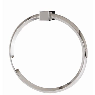 Alno SPA 2 Wall Mounted Towel Ring; Polished Chrome