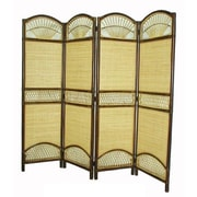 D-Art Collection 69'' x 59'' 4 Panel Room Divider