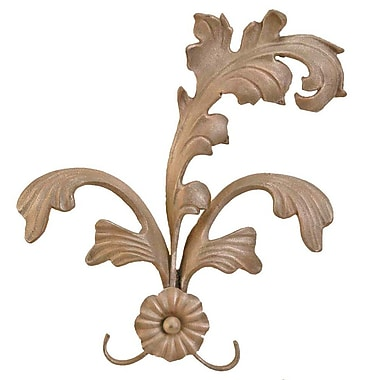 Menagerie Casa Artistica Extended Leaf Curtain Holdback (Set of 2); Gold