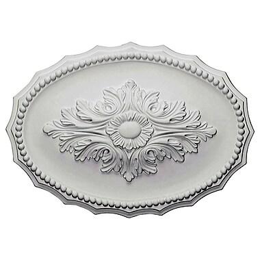 Ekena Millwork Oxford 11.75''H x 16.88''W x 1.5''D Ceiling Medallion