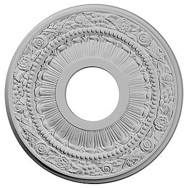 Ekena Millwork Nadia 12.13''H x 12.13''W x 0.88''D Ceiling Medallion