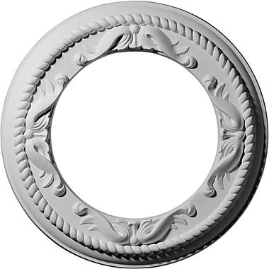 Ekena Millwork Roped Medway 12.25''H x 12.25''W x 0.88''D Ceiling Medallion