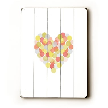 Artehouse LLC Spotted Love by Amanada Catherine Graphic Art Plaque