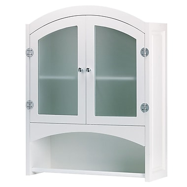 Zingz & Thingz Contemporary 24.25'' W x 30.5'' H Wall Mounted Cabinet