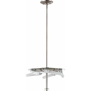 Volume Lighting Esprit 5-Light Mini Pendant; Brushed Nickel