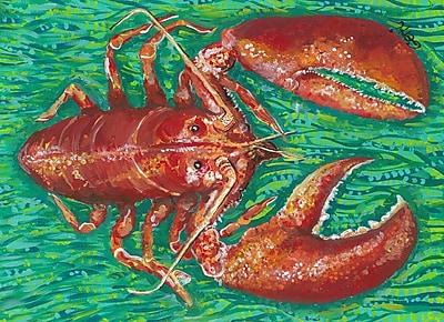 My Island Lobster Kitchen Mat