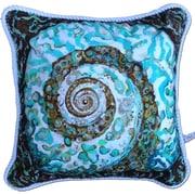 My Island Turban Shell Indoor/Outdoor Throw Pillow